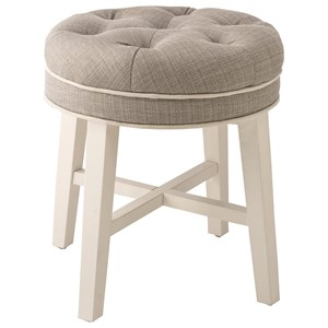 Morris Home Furnishings Vanity Stools Sophia Vanity Stool with Fabric Seat