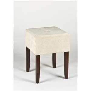 Morris Home Furnishings Vanity Stools Bellamy Backless Vanity Stool