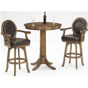 Morris Home Furnishings Warrington 3 Piece Pub Set