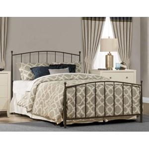 Metal King Bed