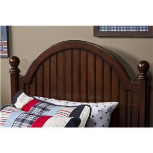 Morris Home Furnishings Westfield Full Post Headboard with Rails