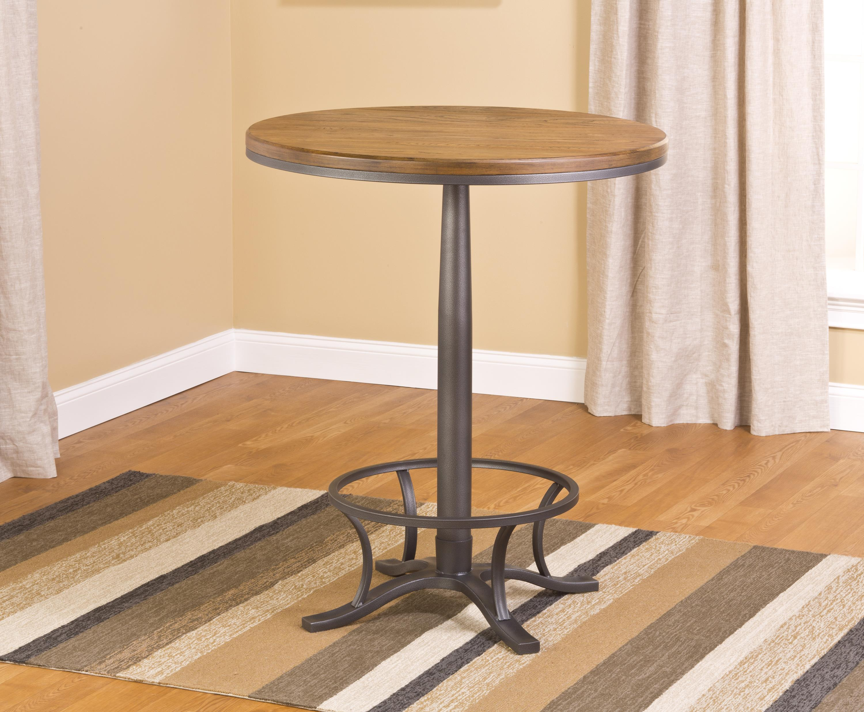 Hillsdale Westview Bar Height Bistro Table - Item Number: 5441PTB