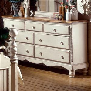 Morris Home Furnishings Wilshire Dresser