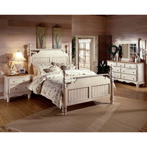 Morris Home Furnishings Wilshire Queen Bedroom Group