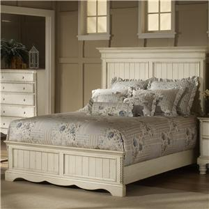 Morris Home Furnishings Wilshire Queen Panel Bed