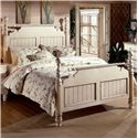 Morris Home Furnishings Wilshire King Poster Bed  - Item Number: 1172BKR