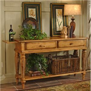 Hillsdale Wilshire Lean Sideboard Table