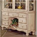 Morris Home Furnishings Wilshire Grand Cottage Buffet - Item Number: 4508-851