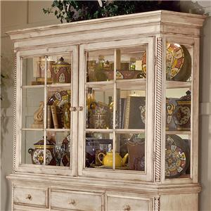 Morris Home Furnishings Wilshire Grand Cottage Hutch for Buffet