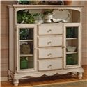 Morris Home Furnishings Wilshire Tall Country Baker's Cabinet - Item Number: 4508-854