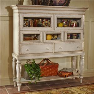 Morris Home Furnishings Wilshire Tall Sideboard Cabinet