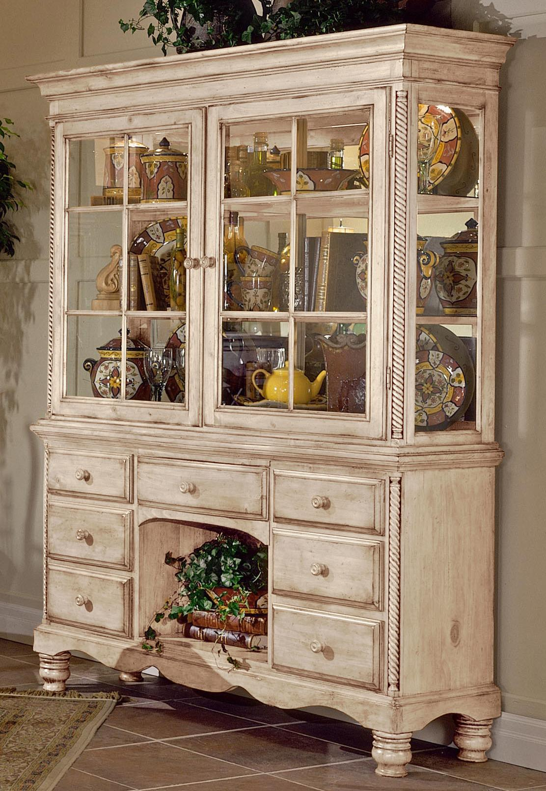 Hilale Wilshire Grand Cottage Buffet Hutch Combo Item Number 4508bh