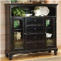 Morris Home Furnishings Wilshire Tall Country Baker's Cabinet - Item Number: 4509-854