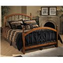 Hillsdale Wood Beds Queen Burton Way Bed - Item Number: 1258BQR