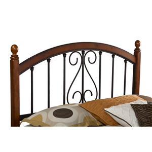 Hillsdale Wood Beds Full/Queen Burton Way Headboard with Rails