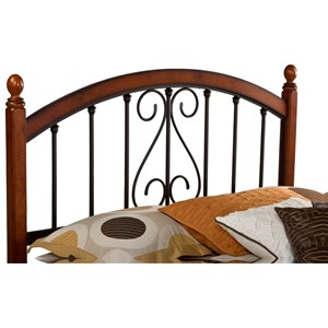 Hillsdale Wood Beds King Burton Way Headboard