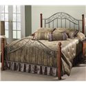 Hillsdale Wood Beds Full Martino Bed - Item Number: 1392BFR