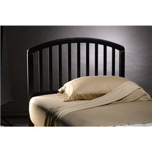 Hillsdale Wood Beds Twin Carolina Headboard with Rails
