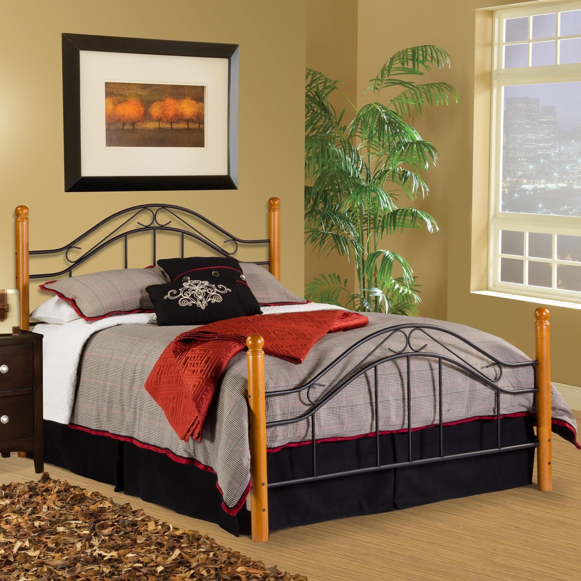 Hillsdale Wood Beds King Bed Set - Item Number: 164BK