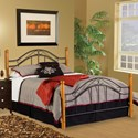 Hillsdale Wood Beds Twin Bed Set - Item Number: 164BTW