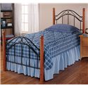 Hillsdale Wood Beds Twin Winsloh Bed - Item Number: 164BTWR