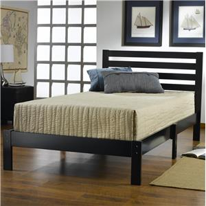 Hillsdale Wood Beds Twin Bed Set