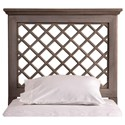 Hillsdale Wood Beds QueenHeadboard and Rails - Item Number: 1843HGFQR
