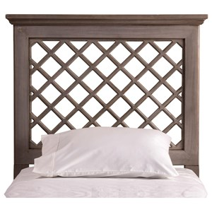 Hillsdale Wood Beds King Headboard and Rails