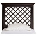 Hillsdale Wood Beds King Headboard and Rails - Item Number: 1843HKR