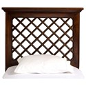 Hillsdale Wood Beds QueenHeadboard and Rails - Item Number: 1843HLFQR