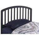 Hillsdale Wood Beds Full/Queen Headboard with Headboard Frame - Item Number: 1924HQ