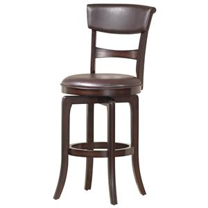 "Hillsdale Wood Stools 30"" Counter Height Cordova Stool"