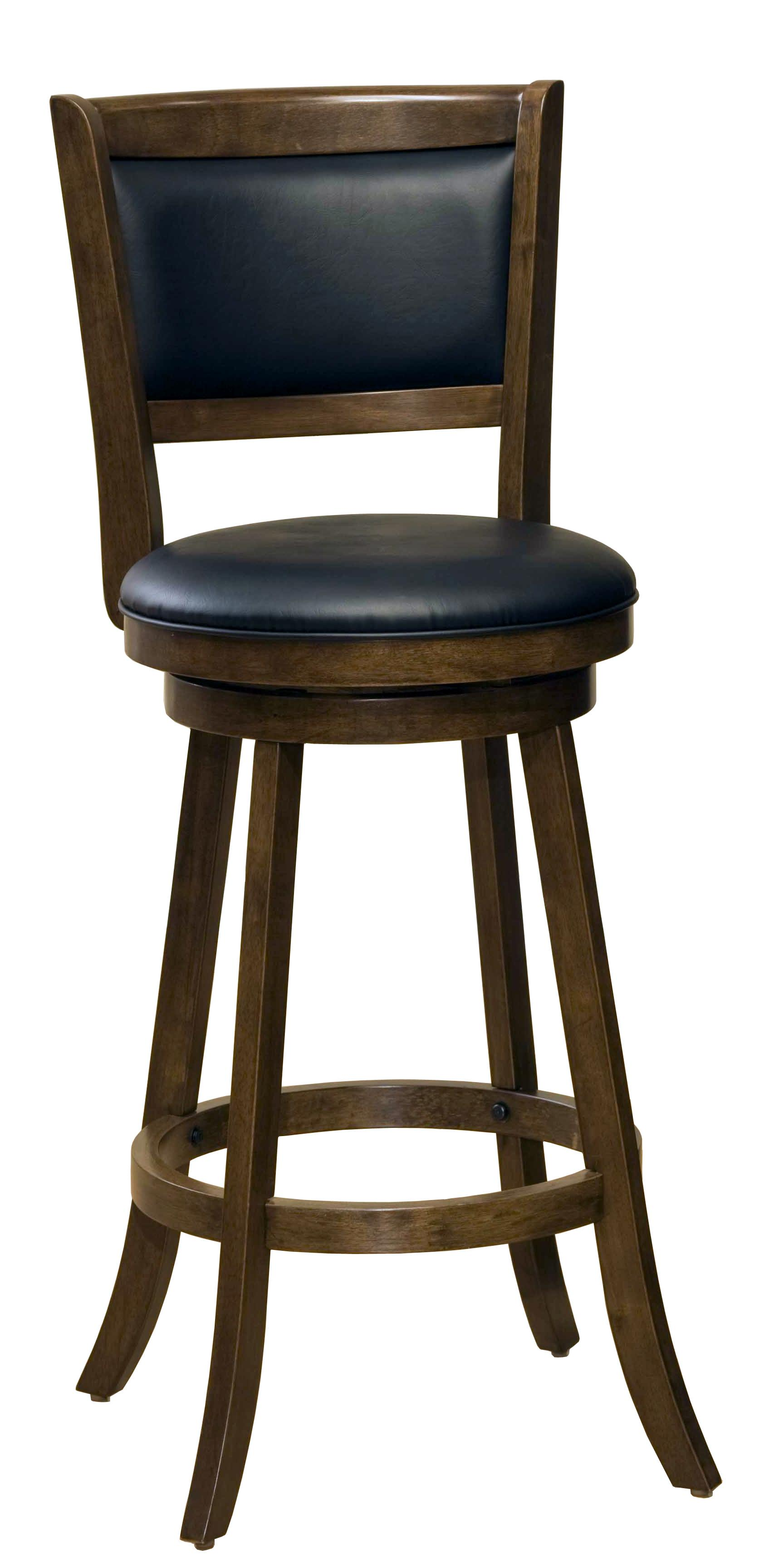 Hillsdale Wood Stools 29 Quot Bar Height Dennery Swivel Bar