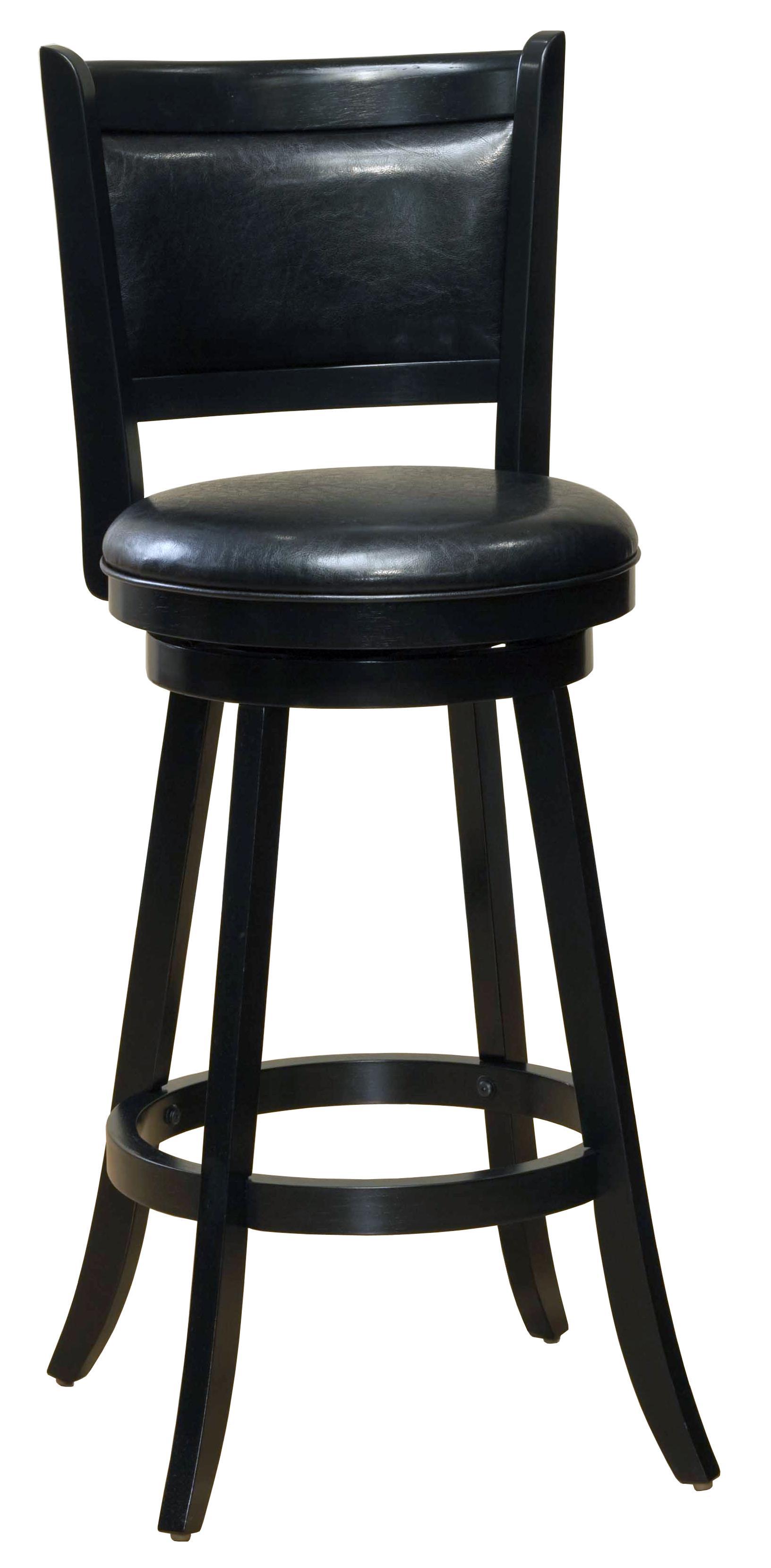 "Hillsdale Wood Stools 29"" Bar Height Dennery Swivel Bar Stool - Item Number: 4472-831"