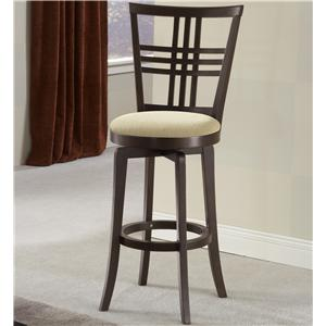 "Morris Home Furnishings Wood Stools 30"" Bar Height Tiburon Stool"