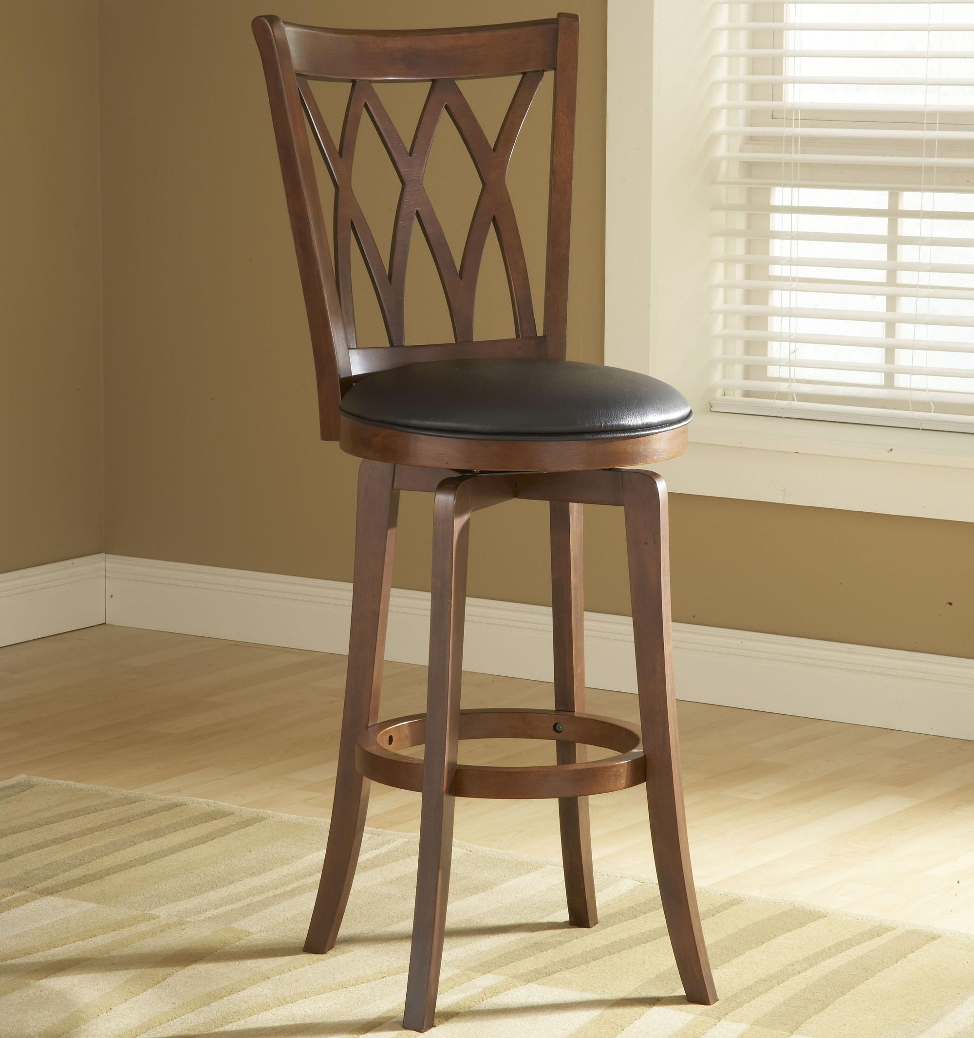 Wood Stools 24quot Counter Height Mansfield Swivel Stool by  : products2Fhillsdale2Fcolor2Fwood20stools4975 828 b from wolffurniture.com size 2000 x 2132 jpeg 279kB