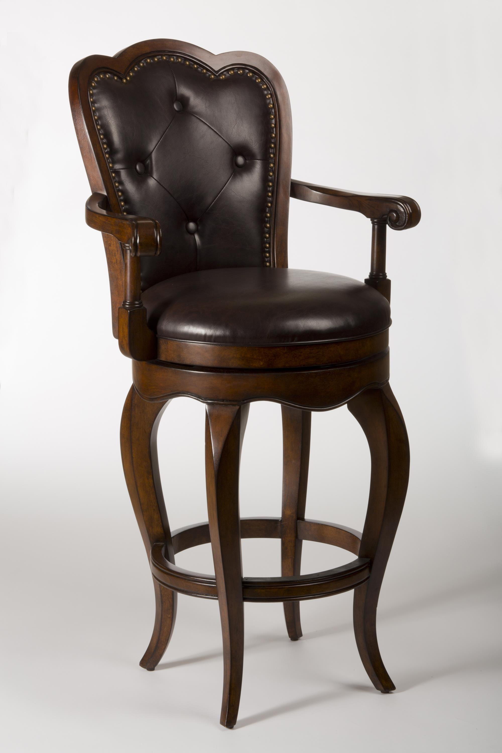Hillsdale Wood Stools Eastwind Swivel Counter Stool With
