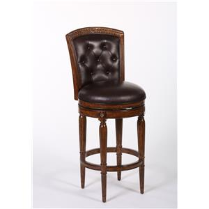 Hillsdale Wood Stools Northfield Swivel Counter Stool