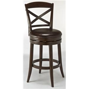 Hillsdale Wood Stools Camden Counter Stool