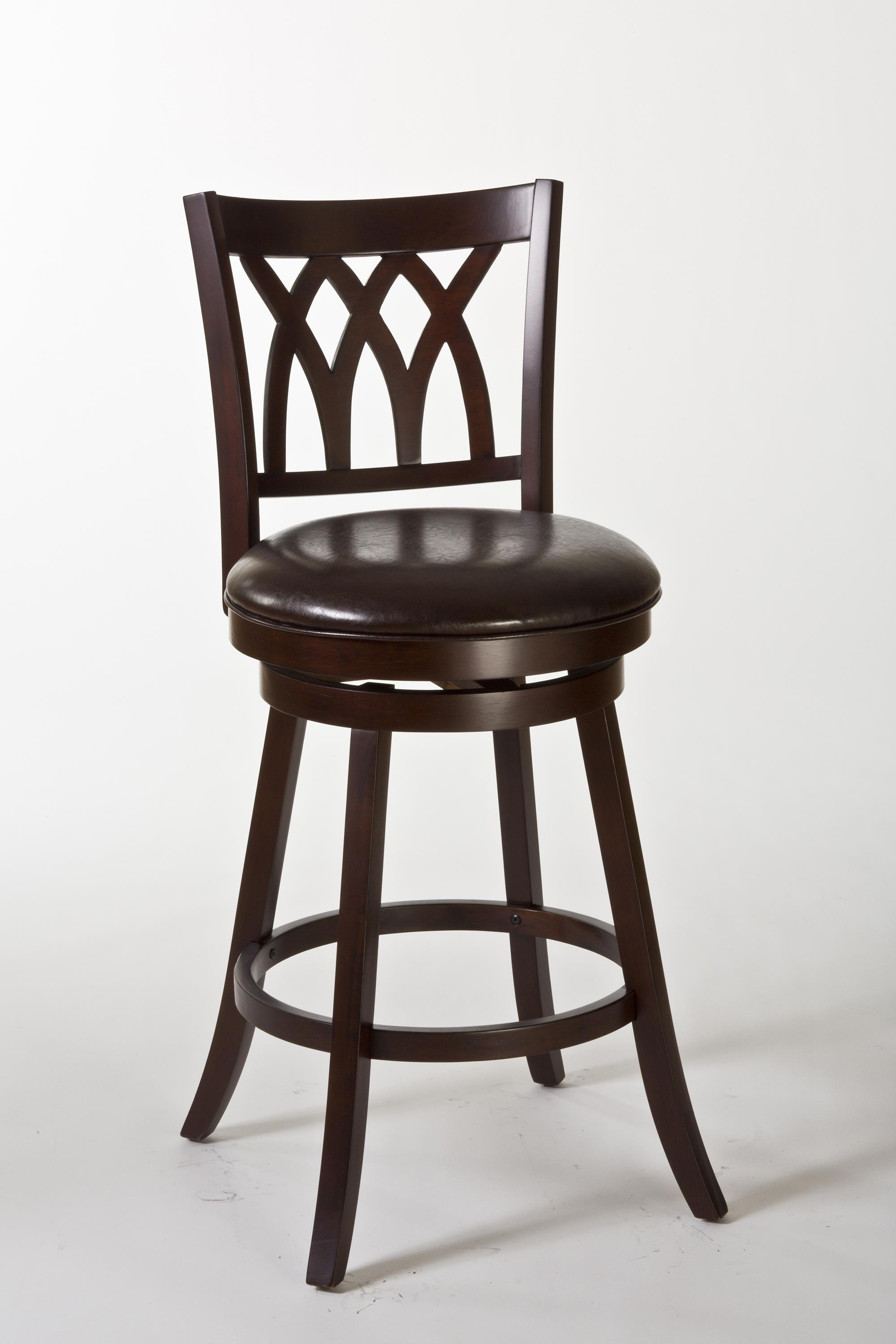 Incredible Hillsdale Wood Stools Tateswood Swivel Counter Stool With Caraccident5 Cool Chair Designs And Ideas Caraccident5Info