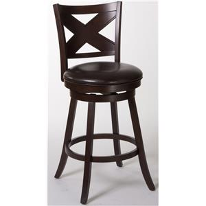 Morris Home Furnishings Wood Stools Ashbrook Bar stool