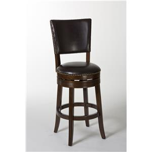 Hillsdale Wood Stools Sonesta Swivel Counter Stool