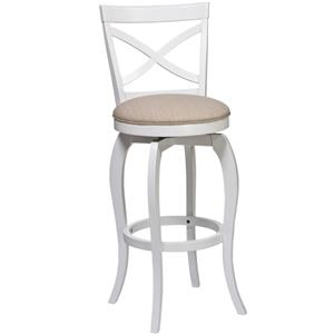 "Morris Home Furnishings Wood Stools 31"" Ellendale Bar Stool"