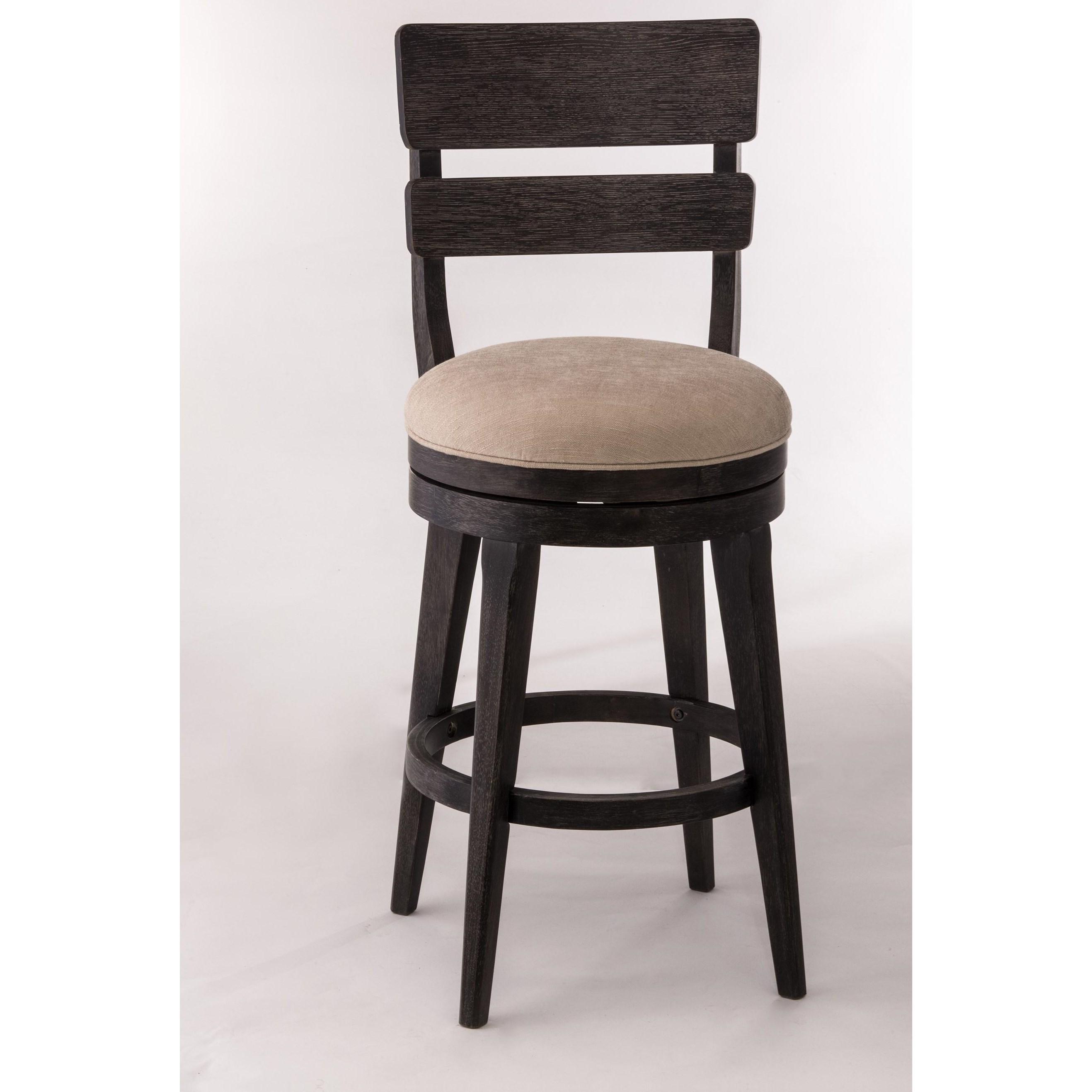 Hillsdale Wood Stools 5911 832 Upholstered Swivel Bar