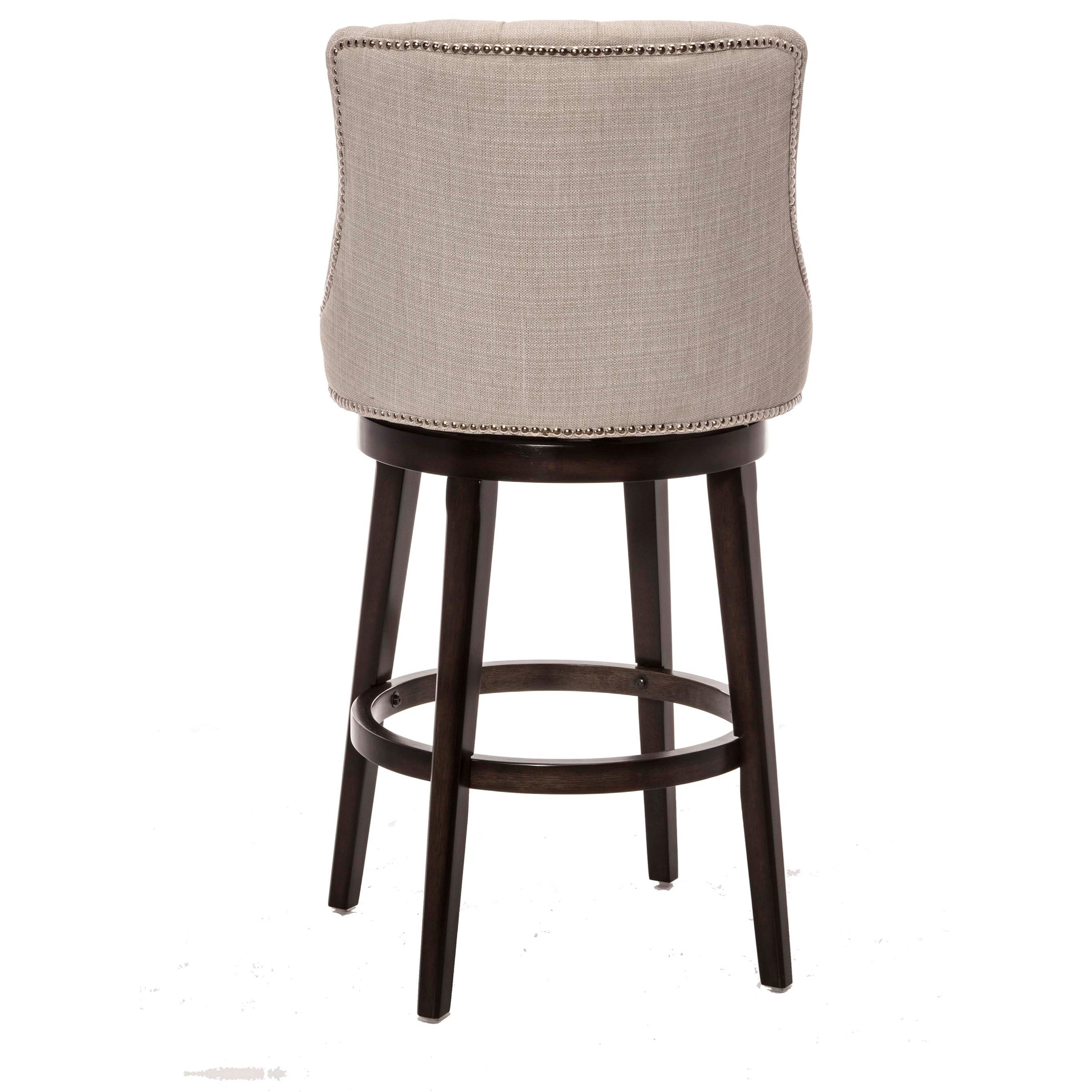 Hillsdale Wood Stools Classic Armchair Swivel Counter