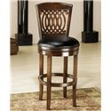 "Morris Home Furnishings Wood Stools 31"" Swivel Stool  - Item Number: 60956"