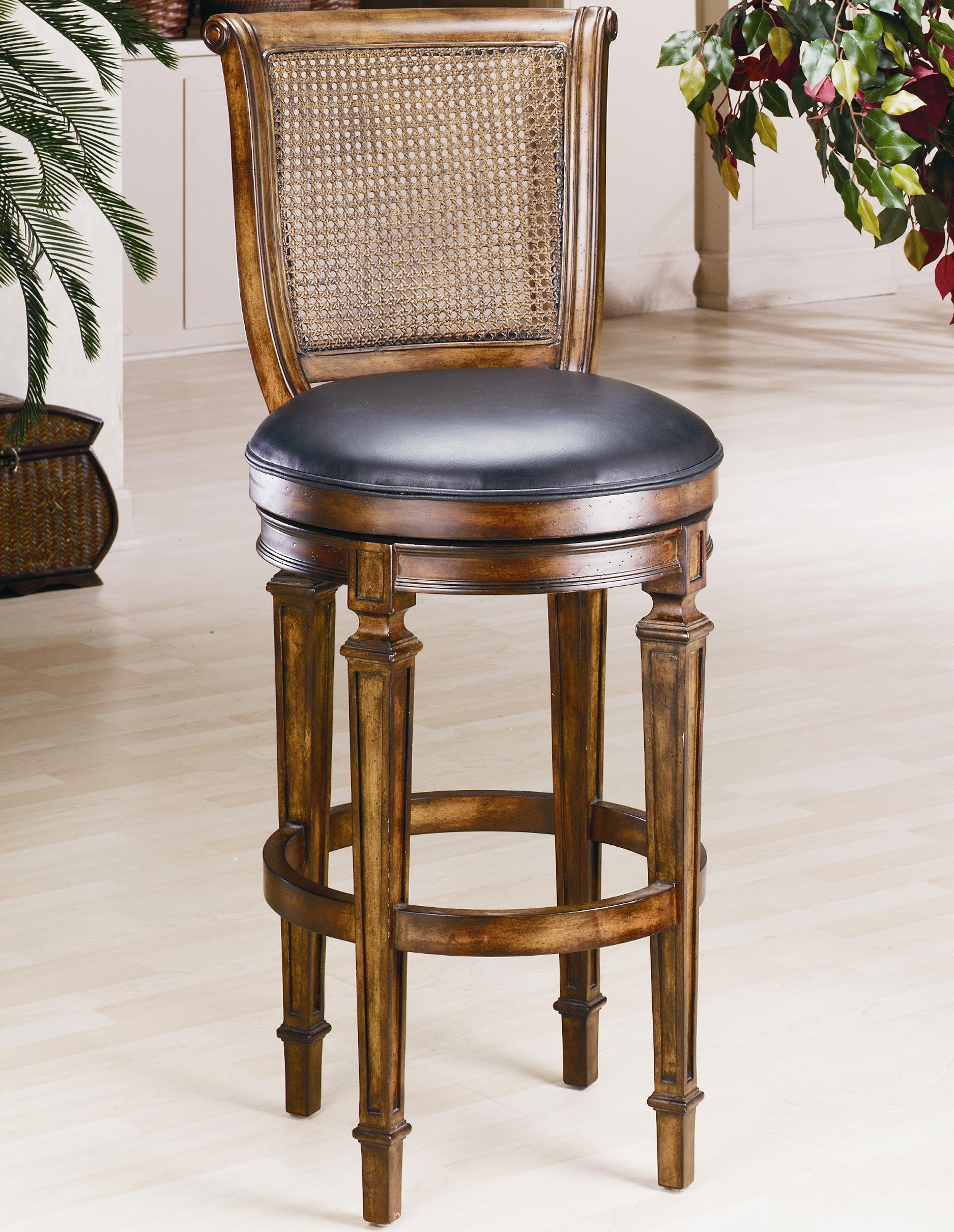 "Hillsdale Wood Stools 24"" Counter Height Dalton Stool - Item Number: 61908"
