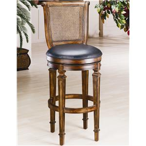 "Morris Home Furnishings Wood Stools 24"" Counter Height Dalton Stool"