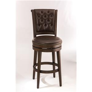 Hillsdale Wood Stools Swivel Bar Stool