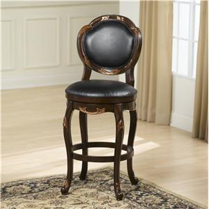 Hillsdale Wood Stools Alaina Swivel Counter Stool
